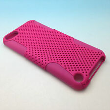 iPod Touch 5 5th Gen Generation Mesh Hybrid Hard Soft Silicone Case 4.86""