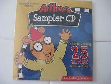 ARTHUR'S SAMPLER CD, COMMEMORATING 25 YEARS WITH ARTHUR!