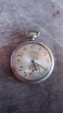Vintage 12 Size Elgin Pocket Watch Grade 303 Running