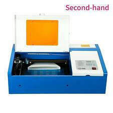 Secondhand Upgraded 40W Laser Engraver Cutting Machine Crafts Cutter Engraver