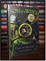 Son Of A Witch ✎SIGNED✎ by GREGORY MAGUIRE Wicked Hardback 1st Edition & Print