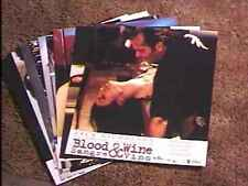 BLOOD AND WINE SPAN LOBBY CARD SET OF 11 JENNIFER LOPEZ