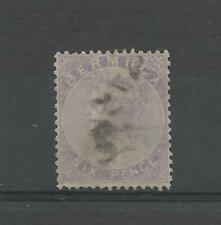 BERMUDA 1865 QV  6d Dull Purple used   *** SEE NOTES ***