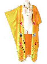 CD214 Plus Size Maxi Cardigan Kaftan Duster Jacket Wrap Dress -2X, 3X, 4X & 5X