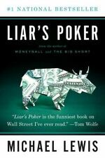 LIAR'S POKER Michael Lewis NEW 1980s Wall Street finance book investing economic