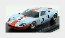 Ford Gt40 4.9L V8 #9 Winner 24H Le Mans 1968 Bianchi Rodriguez 1:43 JP24hLM004