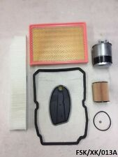 Filters Service KIT for Jeep Commander XK 3.0CRD 2005-2010 W5A580  FSK/XK/013A