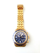 INVICTA 13966 Specialty Collection Chrono Blue Dial Gold Tone Stainless Steel