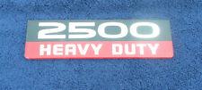 2007-12 DODGE RAM 2500 HEAVY DUTY DOOR EMBLEM NOS