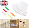 10 X Baby Kid Child Safety Lock Proof Cabinet Cupboard Drawer Fridge Pet Door UK
