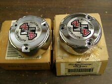 NOS OEM Ford 1990 - 1998 F150 F250 Truck Hub Lock Caps 1991 1992 1993 1994 1995