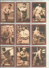 1992 == ACTION PACKED BASEBALL COMPLETE SET ==SEE SCANS==
