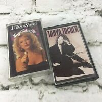 Tanya Tucker Cassette Tapes Lot Of 2 Black Velvet Tennessee Woman Country VTG