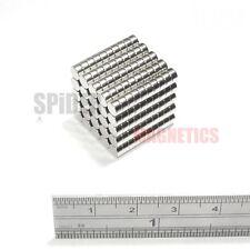 250 Imanes 4x2 Mm de Neodimio Disco Redondo Pequeño Artesanía FRIDGE MAGNET 4mm diámetro x 2mm