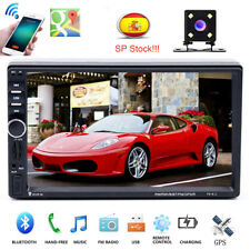 "7"" 2DIN Autoradio Pantalla táctil MP5 Media Player GPS AUX USB BT Radio + EU Map"