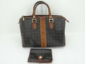 Pollini Tasche mit Geldbörse Portemonnaie Handtasche Damentasche  Leder