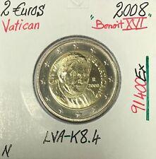 Vatican - 2 Euro 2008 - Pape Benoit XVI