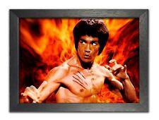Bruce Lee 1 American artista marcial actor director de cine leyenda cartel de imagen