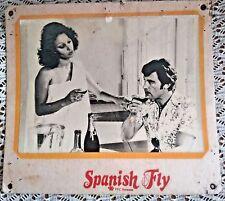 Spanish Fly Original British Movie Poster 70s  Cinema Hall movie dispaly