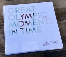 OMEGA GRAND Olympique moments dans le temps Livre Catalogue New & Sealed Speedmaster OEM