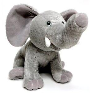 Tusker the Talking Elephant 10` Animated Educational Plush Toy 004128-CO