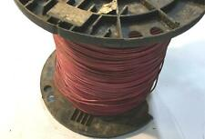 Red 14 AWG THHN Stranded Wire 40.0 LB Spool NOS