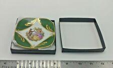 New ListingVintage G. Simonett Limoges France Victorian Couple Mini Plate