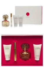 Vince Camuto 4pc Gift Set 3.4 EDP Spray ROLLERBALL Body Lotion SHOWER GEL NIB936