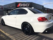Genuine BMW MV1 Alloy Wheels & Tyres GLOSS BLACK E88 E46 E87 F20 F52 MV2 MV3