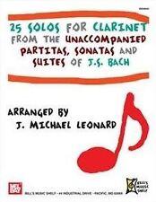 25 solos Para Clarinete