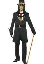 Steampunk Victorian Vamp Male Adult Costume Size Large