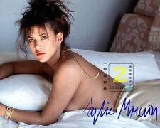 """Sophie Marceau 10"""" x 8"""" HOT Signed Color PHOTO REPRINT"""