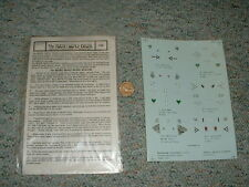 Microscale decals 1/72 72-64 Luftwaffe Aces #3  G24