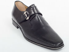 New  Cesare Paciotti Black Leather Shoes UK 11.5 US 12.5 Retail $ 695