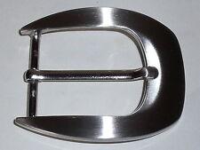 Gürtelschnalle Schließe Schnalle Verschluss  3,5 cm schwarz  NEUWARE  rostfrei