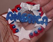 Ooak Mini Wreath Ornament Independence Day Wreath