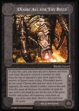 MECCG CCG Middle-earth Desire All For Thy Belly Balrog MEBA MINT