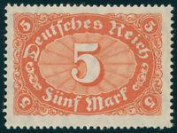 DR 1921, MiNr. 174 b, tadellos postfrisch, Kurzbefund Bechtold, Mi. 70,-