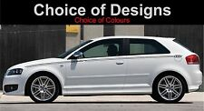 audi a3 side stripe pinstripe decals stickers graphics 2003-2012 2 off