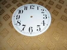 For American Clocks-Round Sessions Paper Clock Dial-125mm M/T-GLOSS WHITE-Spares