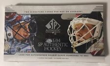 2003-04 Upper Deck SP Authentic Factory Sealed Hockey Hobby Box
