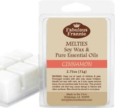 CINNAMON 2.75oz Pure & Natural Soy Candle Meltie/Tart/Melts by Fabulous Frannie