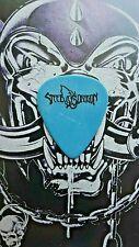 ZAKK WYLDE Steel Dragon from ROCK STAR movie blue guitar pick
