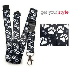 ANIMAL FEETS Lanyard Neck Strap Holder for keys, badge, Id card Cat Dog puppy