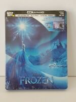 Frozen Limited Edition Collectible SteelBook-4K Ultra HD + BluRay + Digital Code