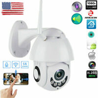 1080P WIFI IP Camera WHITE Wireless Outdoor CCTV HD Home Security IR Cam Record