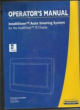 Original 08/09 New Holland Intellisteer Auto Steering System Operatotor's Manual