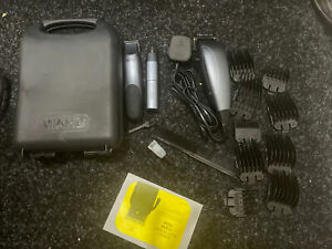 Wahl 3-in-1 Hair Clippers, Nose Trimmer and Stubble Trimmer with Storage Case