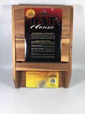 Heath Bat-1 Deluxe Maintenance Free Wood Bat House