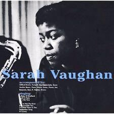 Sarah Vaughan s/t Import 180g LP w/ Clifford Brown, Quinichette, BEST VOCAL JAZZ
